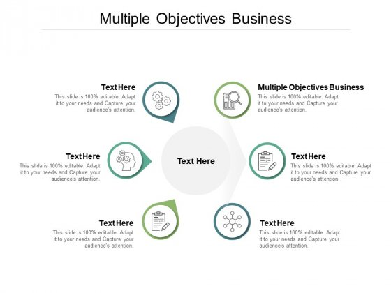 Multiple Objectives Business Ppt PowerPoint Presentation Show Objects Cpb