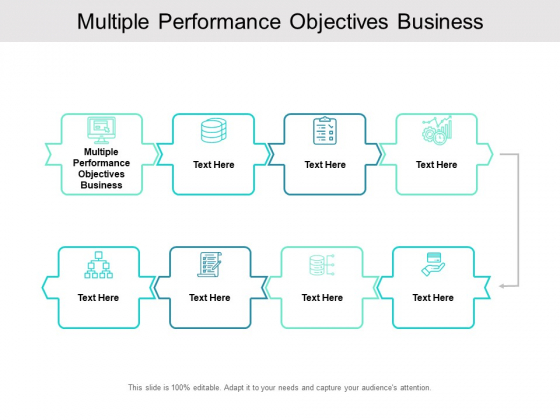 Multiple Performance Objectives Business Ppt PowerPoint Presentation Outline Show Cpb