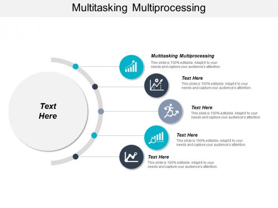 Multitasking Multiprocessing Ppt PowerPoint Presentation Model Icon Cpb