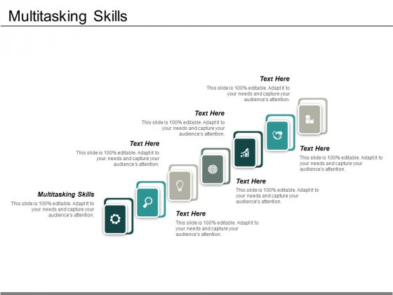 Multitasking Skills Ppt PowerPoint Presentation Styles Graphics Design