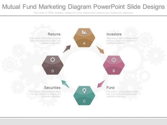Mutual Fund Marketing Diagram Powerpoint Slide Designs