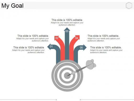 My Goal Ppt PowerPoint Presentation Pictures Introduction