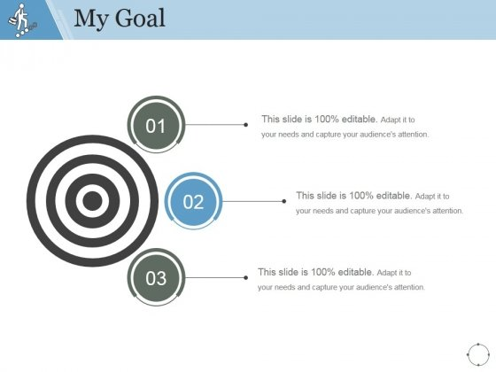 My Goal Ppt PowerPoint Presentation Samples