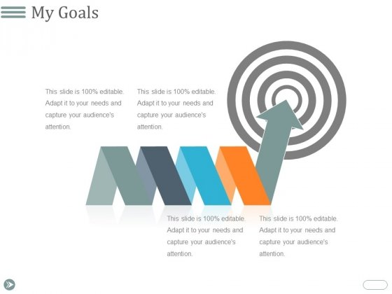 My Goals Ppt PowerPoint Presentation Gallery Graphics Design