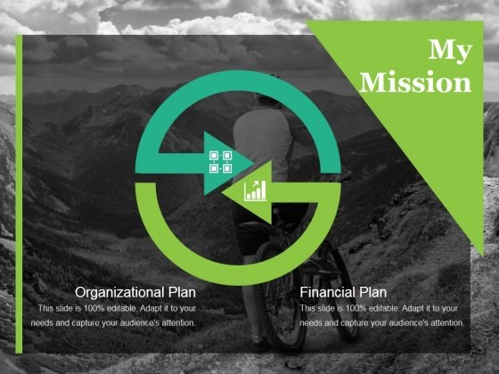 My Mission Ppt PowerPoint Presentation Ideas Examples