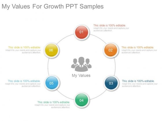 My Values For Growth Ppt Samples