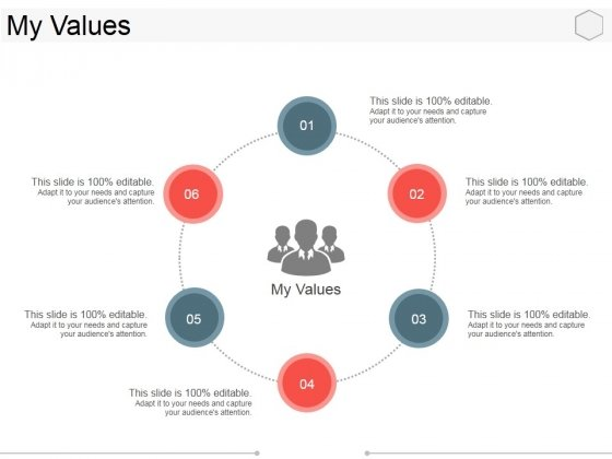 My Values Template 1 Ppt PowerPoint Presentation Infographics Information