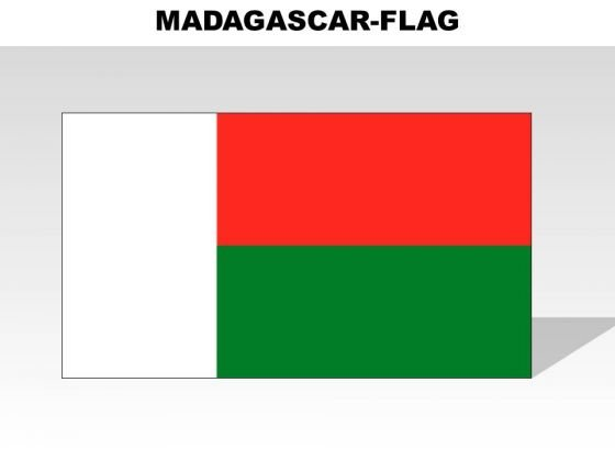 Madagascar Country PowerPoint Flags