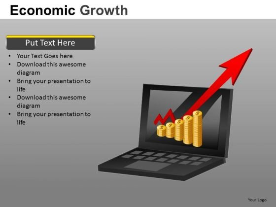 Making Money On Internet PowerPoint Templates