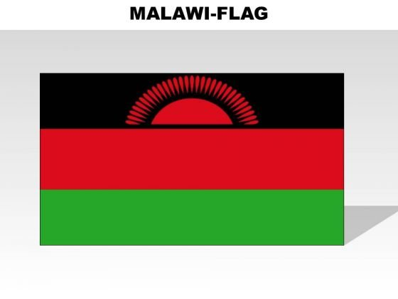 Malawi Country PowerPoint Flags