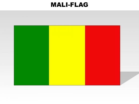 Mali Country PowerPoint Flags
