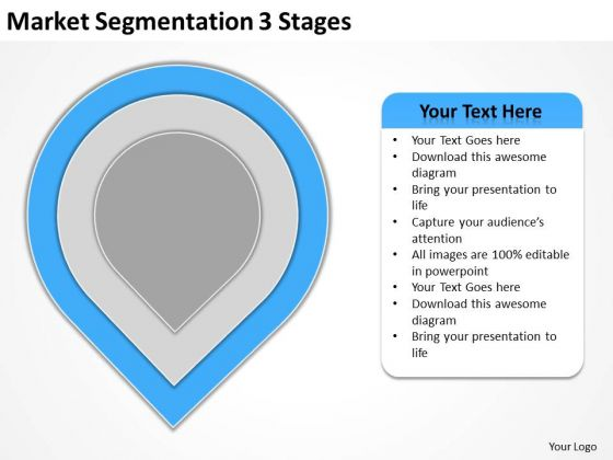 Market Segmentation 3 Stages Ppt Business Strategy PowerPoint Slides