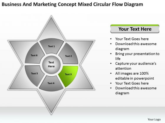 Marketing concept mixed circular flow diagram ppt business plan marketing concept mixed circular flow diagram ppt business plan examples powerpoint slides powerpoint templates ccuart Image collections