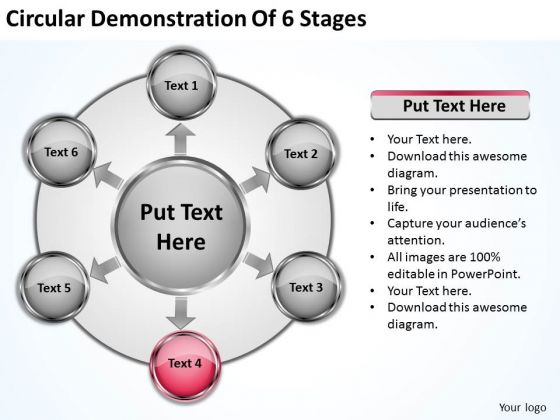 Marketing Concepts Circular Demonstration Of 6 Stages Business Expansion Strategy