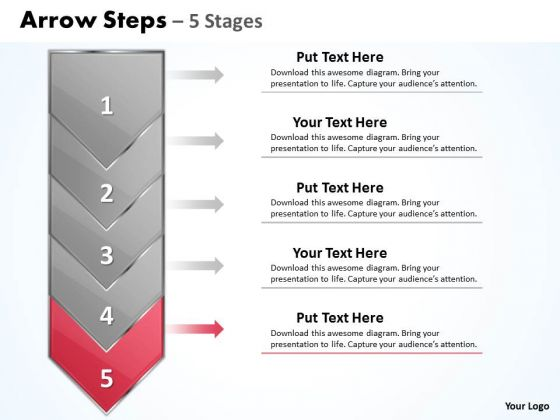 Marketing Ppt Arrow 5 Power Point Stage 1 Communication Skills PowerPoint 6 Image