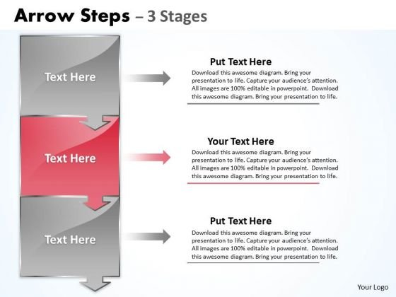 Marketing Ppt Arrow Practice The PowerPoint Macro Steps 3 Stage Image