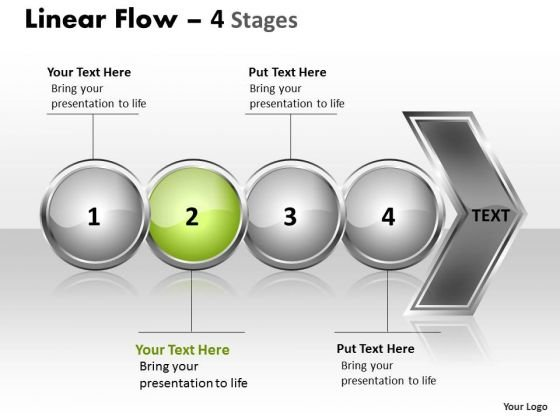 Marketing Ppt Background Circular Flow Of 4 Stages Business Communication PowerPoint 3 Design
