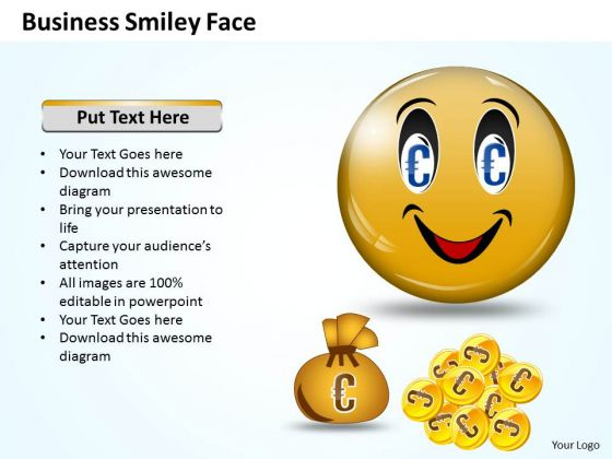 Marketing Ppt Template Business Smiley Face 3 Strategy PowerPoint 1 Design