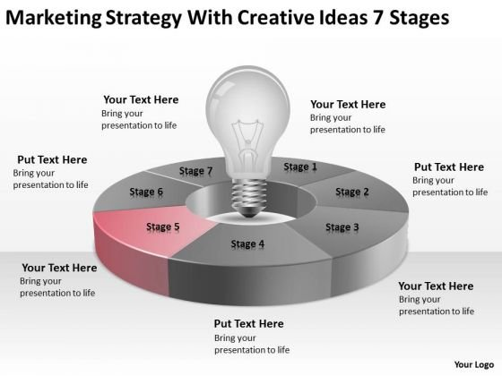 Marketing Strategy With Creative Ideas 7 Stages Ppt Fitness ...