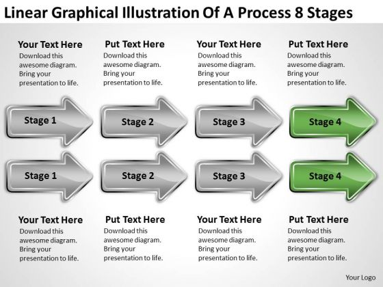 Massively Parallel Processing 8 Stages PowerPoint Templates Backgrounds For Slides