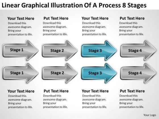 Massively Parallel Processing 8 Stages Ppt PowerPoint Templates Backgrounds For Slides