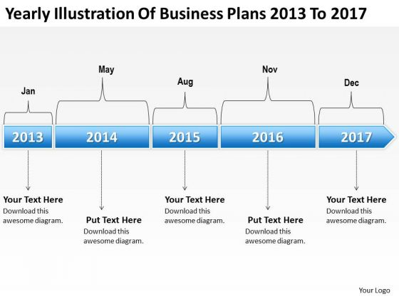 Massively Parallel Processing Plans 2013 To 2017 PowerPoint Templates Ppt Backgrounds For Slides