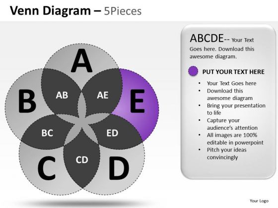 Mathematical Venn Diagram PowerPoint Slides And Ppt Diagram Templates