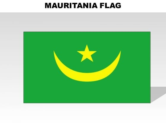 Mauritania Country PowerPoint Flags