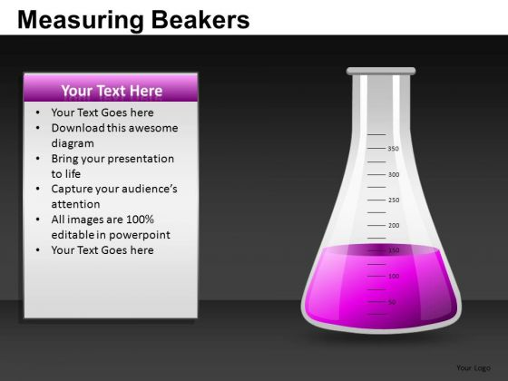 Measuring Beakers Ppt Clipart