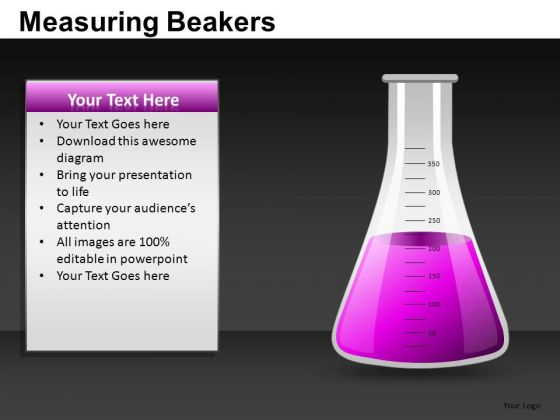 Measuring Beakers Ppt Graphics