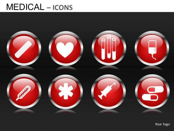 Medical Icons PowerPoint Image Slides