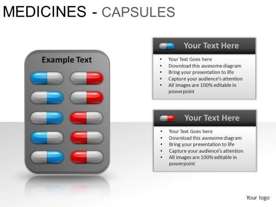 Medical Pills PowerPoint Slides And Ppt Template Diagrams