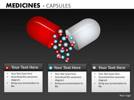 Medical Pills Research PowerPoint Templates Ppt Slides