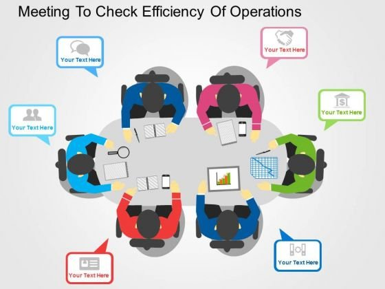 Meeting To Check Efficiency Of Operations PowerPoint Templates