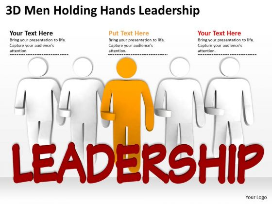 Men At Work Business As Usual Hands Leadership PowerPoint Templates Ppt Backgrounds For Slides