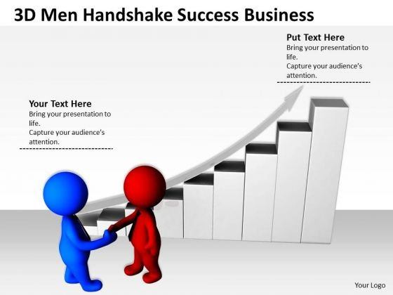 Men In Business Handshake Success PowerPoint Templates Free Download Slides