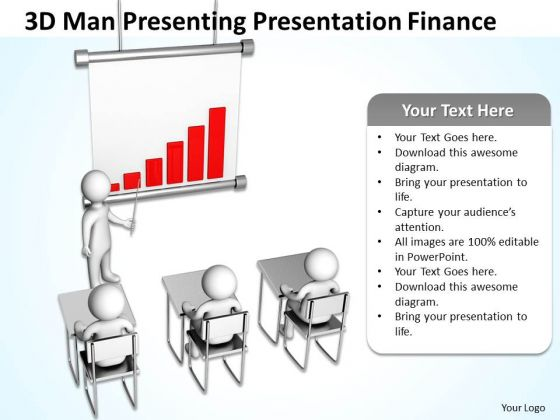 Men In Business Man Presenting Presentation Finance PowerPoint Templates Ppt Backgrounds For Slides