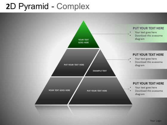 Merged Pyramids PowerPoint Slides And Ppt Templates