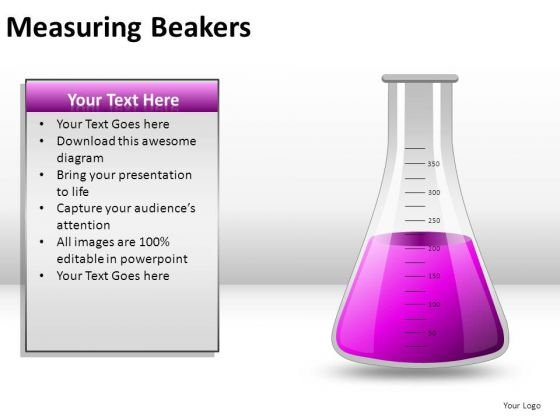 Microbiology Measuring Beakers PowerPoint Slides And Ppt Diagram Templates