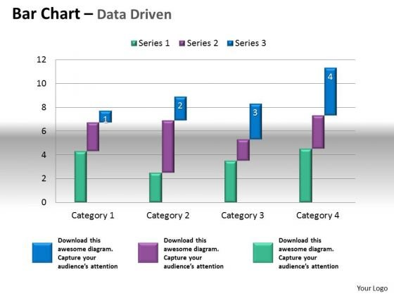 Microsoft Excel Data Analysis Bar Chart To Compare Quantities PowerPoint Templates