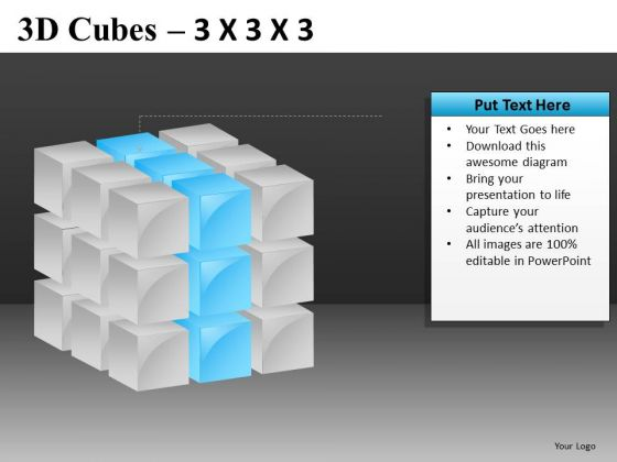 Middle Layer Cube PowerPoint