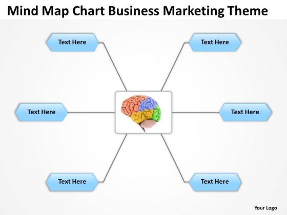 Mind Map Chart Business Marketing Theme Ppt Plan Template Download PowerPoint Templates