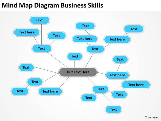 Mind Map Diagram Business Skills Ppt Best Plans PowerPoint Templates