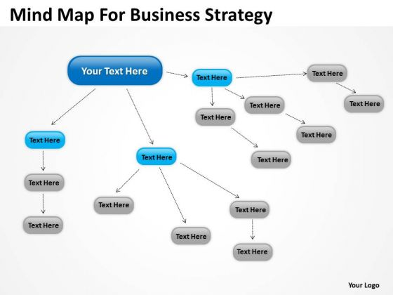 Mind Map For Business Strategy Review Ppt Plans Examples PowerPoint Slides