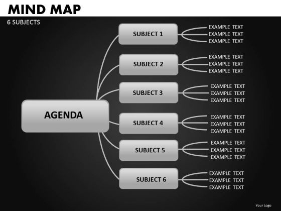 Mind Map PowerPoint Templates Decision Tree Ppt Diagrams