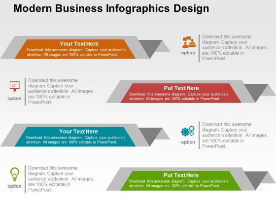 Modern Business Infographics Design PowerPoint Templates ...