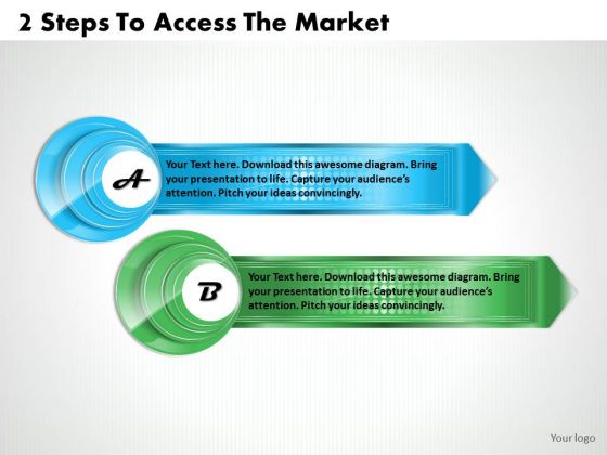 Modern Marketing Concepts 2 Steps To Access The Strategic Planning Agenda Ppt Slide