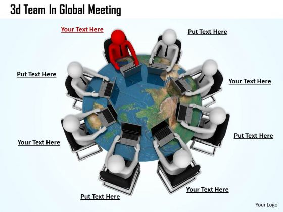 Modern Marketing Concepts 3d Team Global Meeting Business