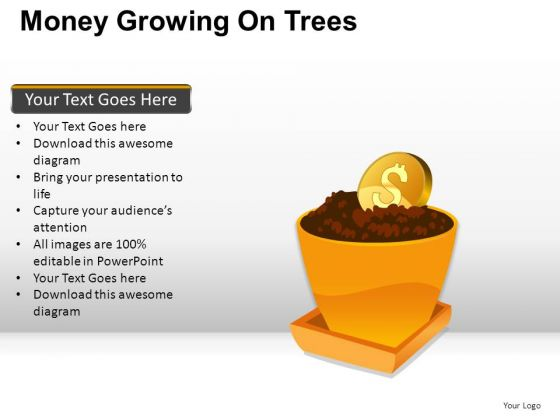 Money Growing On Trees PowerPoint Slides And Ppt Diagram Templates