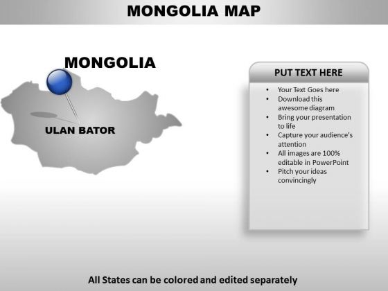 Monglia Country PowerPoint Maps